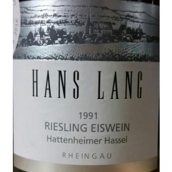 1991 Hattenheimer Hassel Riesling Eiswein Versteigerung 0,75l - Hans Lang (