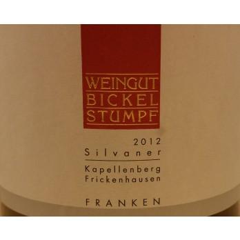 """2012 Frickenhausen Kapellenberg Silvaner """"Versteigerung"""" Erste Lage 1,5 l - Weingut Bickel-Stumpf"""