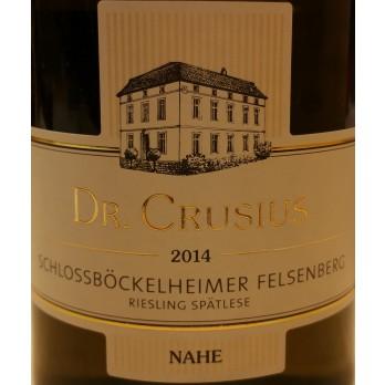 "2014 Schlossböckelheim Felsenberg Spätlese ""Versteigerung"" Große Lage 0,75 l - Weingut Dr. Crusius"
