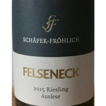 2015 Bockenauer Felseneck Riesling AusleseGoldkapsel Versteigerungswein 0,375 l - Weingut Schäfer-Fröhlich