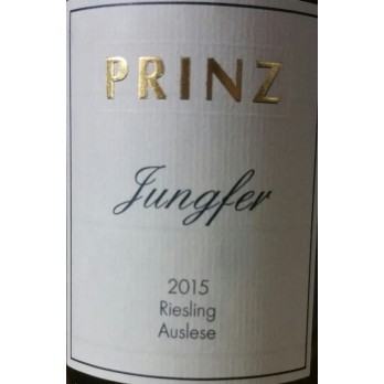 2015 Hallgarten Jungfer Riesling Auslese GoldkapselVersteigerung 0,375l - Weingut Prinz