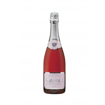 Champagner Brut Rosé Reserve 0,75l - Champagne de Venoge