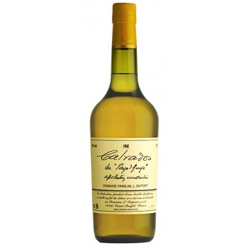 """Calvados Pays d' Auge """"Fine"""" 0,7 l - Calvados Dupont"""