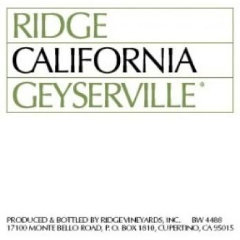 2005 Geyserville 0,75l - Ridge Vineyards