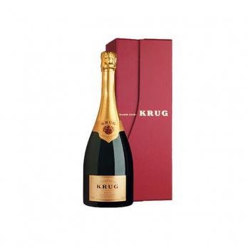 Champagne Krug Grande Cuvée 0,75 l in der Geschenkverpackung