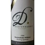 1986 Martinsthaler Wildsau Riesling Spätlese Versteigerungswein 0,75l - Weingut Difenhardt