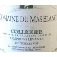 """2000 Collioure Rouge """"Les Cosprons Levants"""" 0,75 l - Domaine du Mas Blanc"""