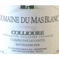 """2002 Collioure Rouge """"Les Cosprons Levants"""" 0,75 l - Domaine du Mas Blanc (Wein)"""