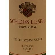"""2014 Juffer Sonnenuhr Riesling Auslese """"Versteigerung"""" 1,5 l - Weingut Schloss Lieser"""
