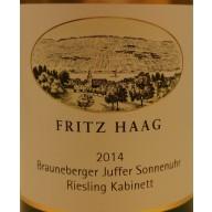 "2014 Juffer Sonnenuhr Riesling Kabinett ""Versteigerung"" 0,75 l - Weingut Fritz Haag"