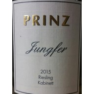 2015 Hallgarten Jungfer Riesling Kabinett GoldkapselVersteigerung 0,75l - Weingut Prinz