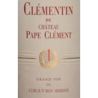 2005 Clémentine du Château Pape Clément 0,75l